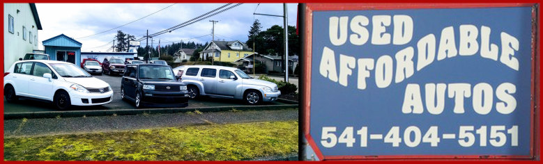 Used Affordable Autos - North Bend, Oregon